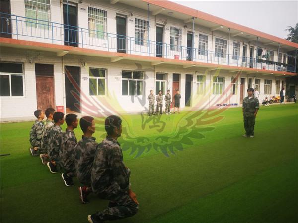 西安素质教育学校-素质考核活动现场