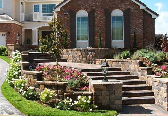 南阳别墅庭院设计