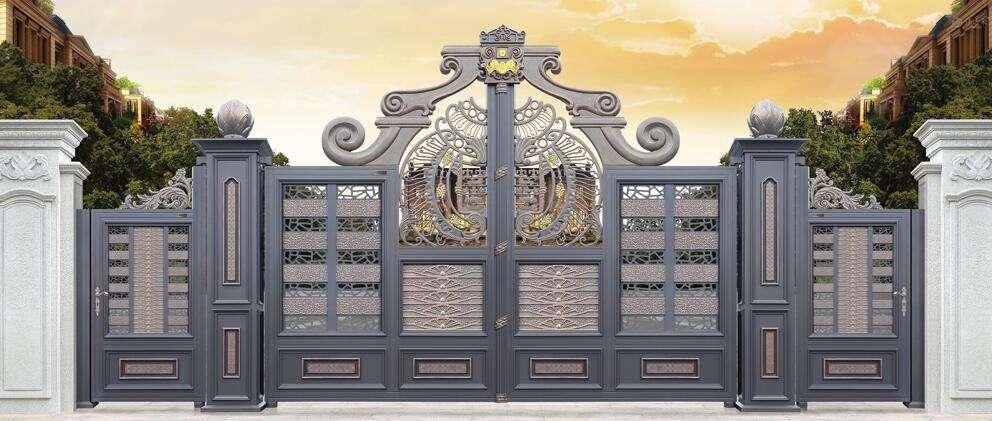 只看庭院多没劲,来看看我们使用的大门材质优势,御景源保你满意!