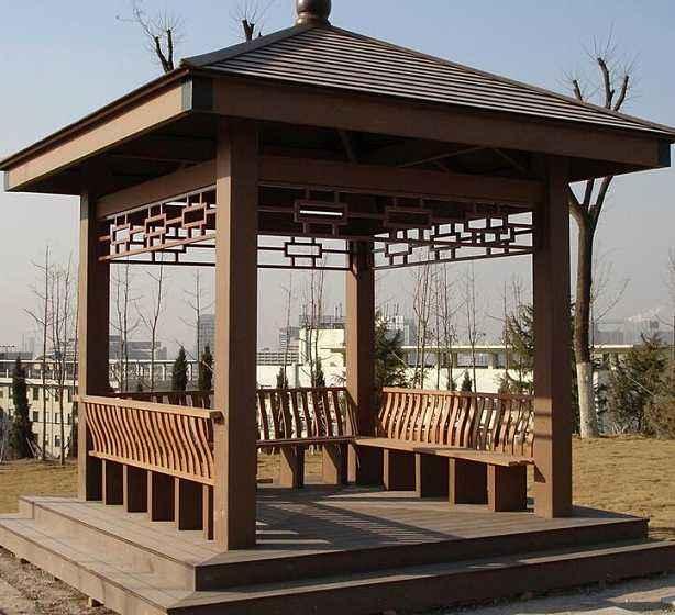 南阳防腐木凉亭的有哪些特点