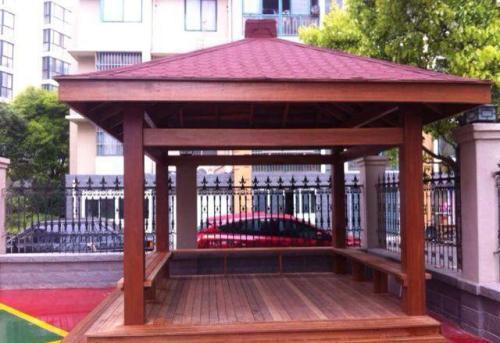 南阳防腐木凉亭优点和常见问题解决方案