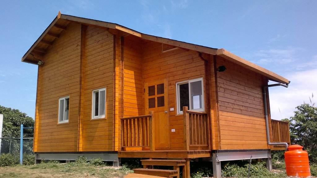 南阳御景源---防腐木木屋的作用是什么?适合人居住吗?