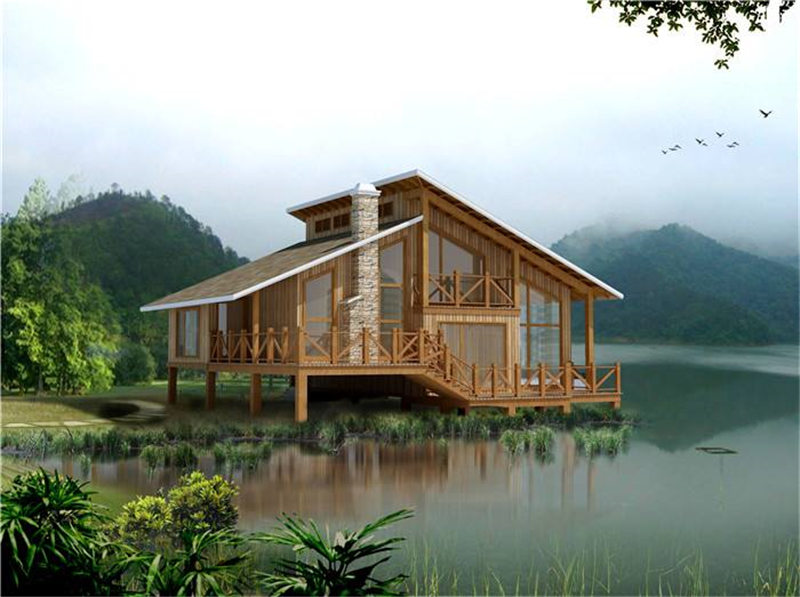 南阳御景源告诉你防腐木木屋建造时需考虑什么?