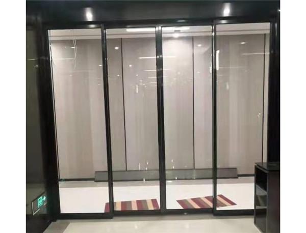 河南玻璃门装置