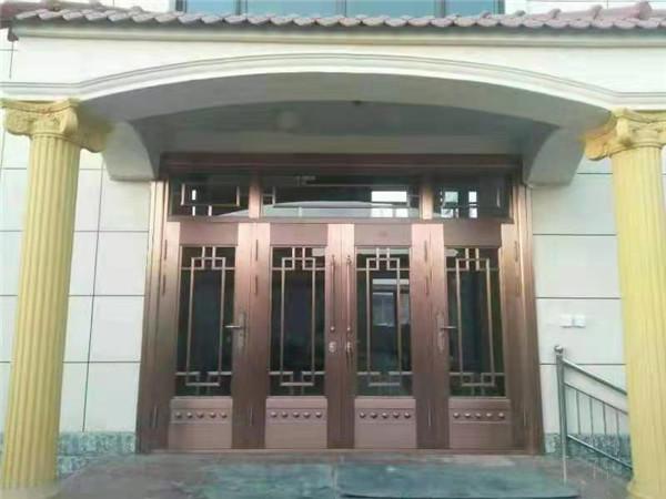 河南玻璃门与丹尼斯协作案例