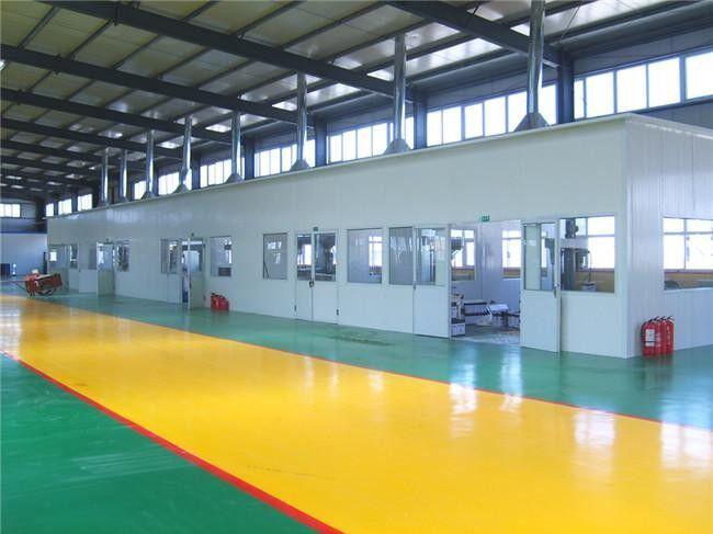 鸿春节能建材厂房内部展示