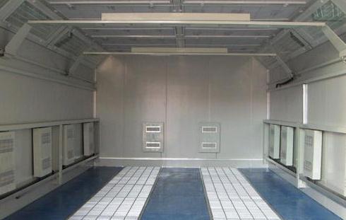 湖北中远立信的环保喷漆房设备受到了株洲南车公司的认可
