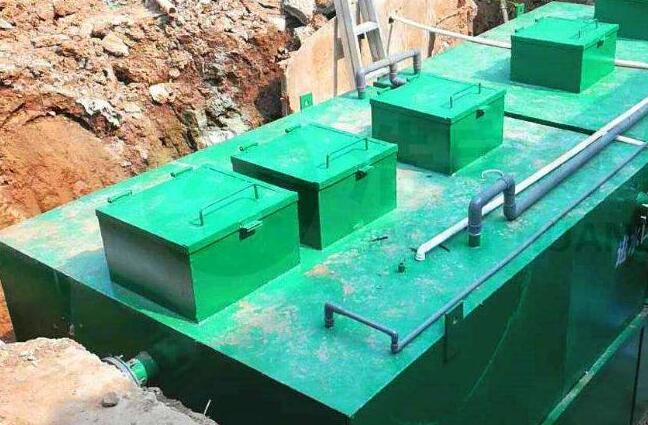 一体化污水处理设备有哪些优点?四川污水处理设备厂家为你介绍