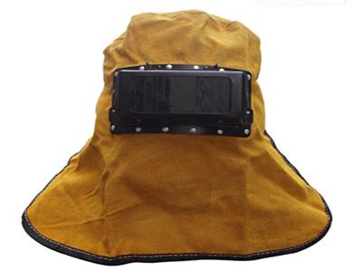 皮电焊面罩