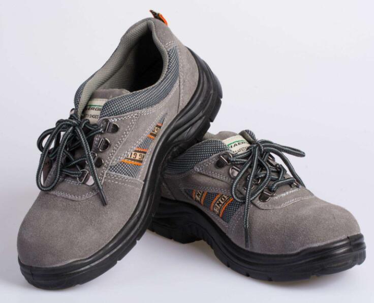 对劳保鞋进行质量检查