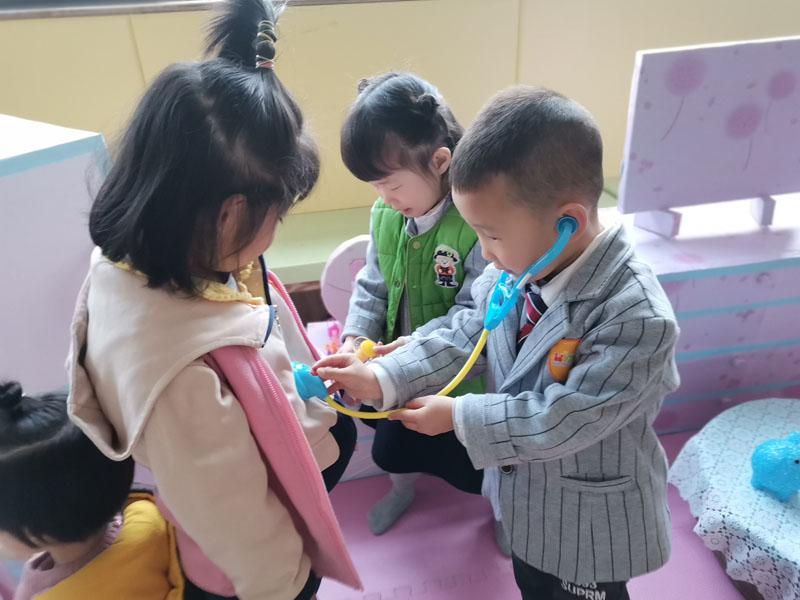 兰州芯儿国际幼儿园活动进行时