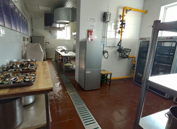 兰州芯儿国际幼儿园厨房