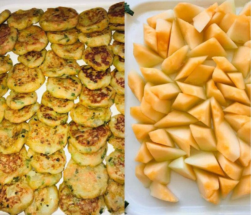 芯儿国际幼儿园美食区-黄河蜜瓜