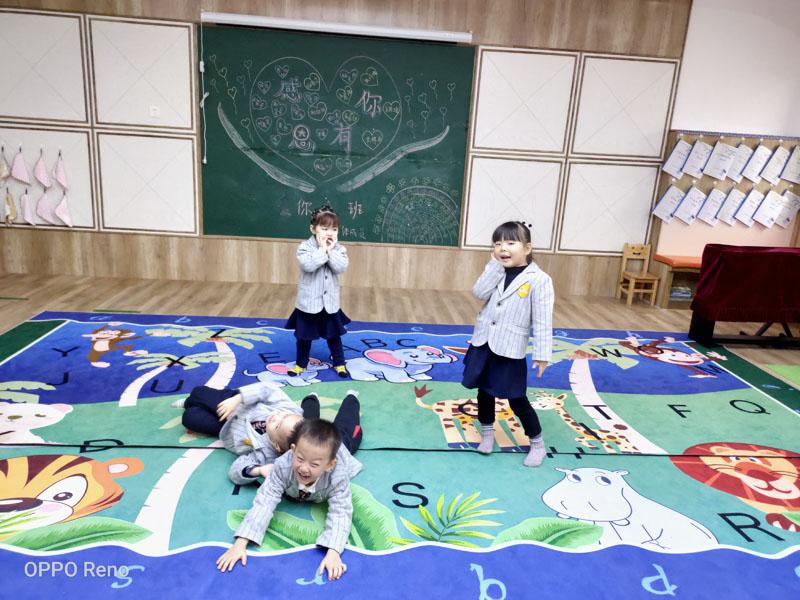 快乐的天使-兰州芯儿国际幼儿园