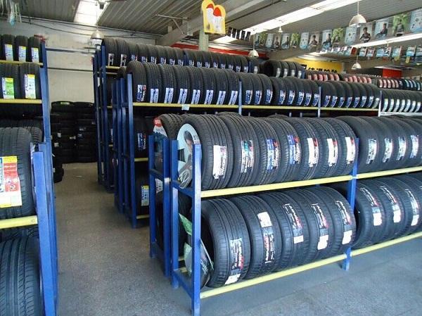西宁轮胎货架