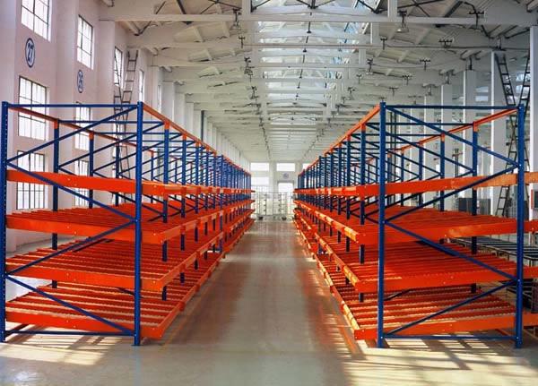 西宁流利式货架  大型仓储货架