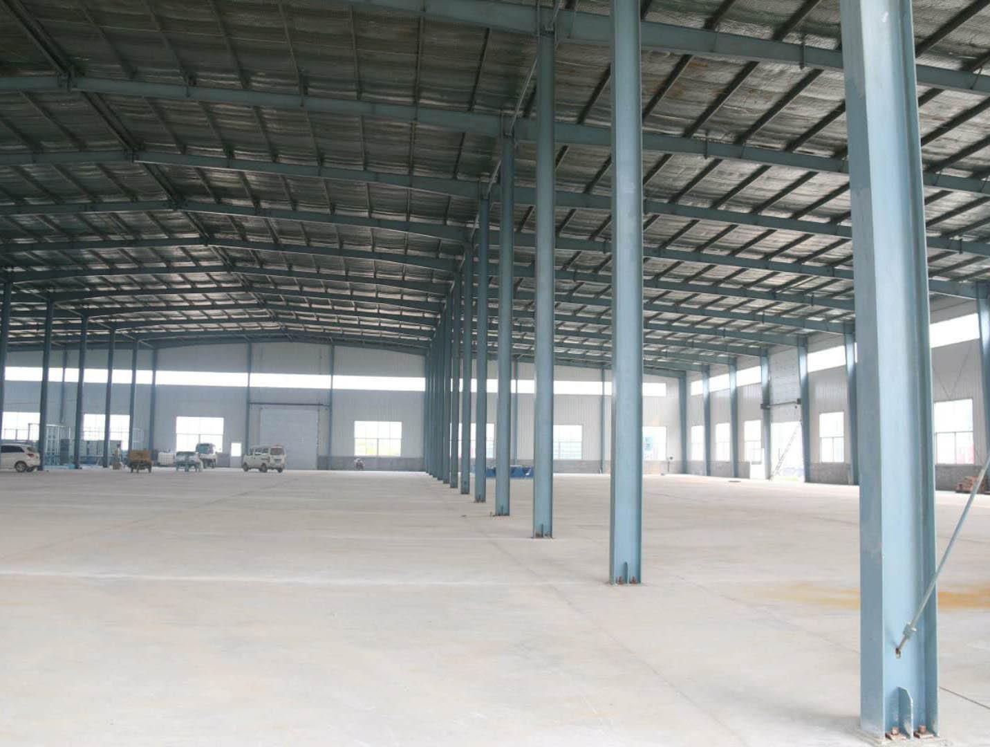钢结构工程施工现场
