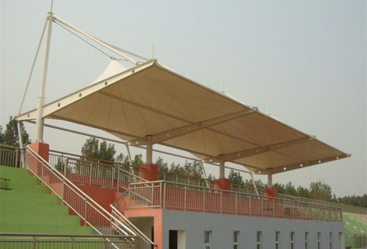 成都膜结构体育看台安装