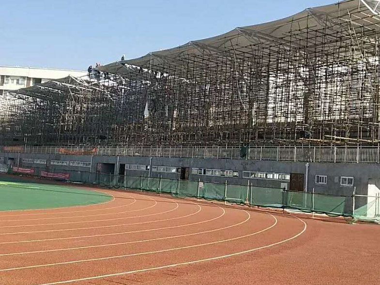 膜结构体育看台案例-凉山彝族体育场
