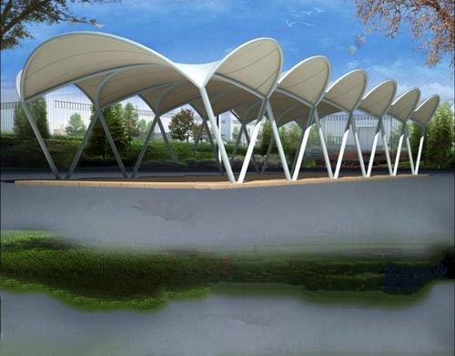 蜀国创新膜结构工程厂家告诉你如何安装成都膜结构景观棚