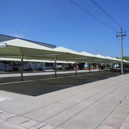 膜结构停车棚的合适安装地点在哪里?