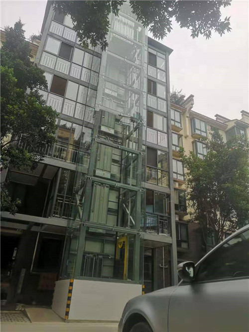 旧楼加装电梯安装