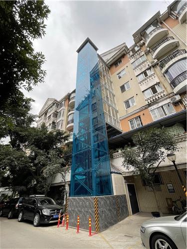 老旧小区加装电梯案例-名人苑