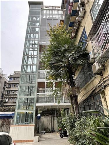 旧楼加装电梯案例-启明公寓