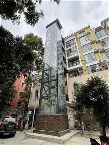 旧楼加装电梯案例-温哥华水城