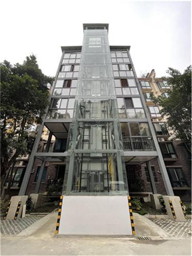 老旧小区加装电梯案例-温江区
