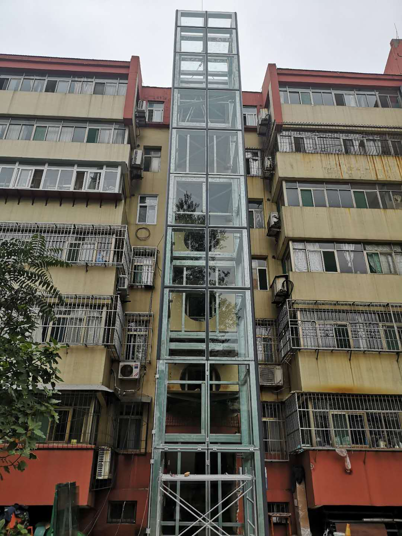 成都旧楼加装电梯
