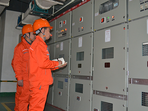 Annual inspection and pre test of electrical equipment of Fusen Meijia (Nanmen No.1 store)