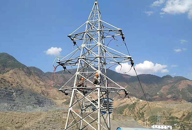Sichuan electric power equipment construction