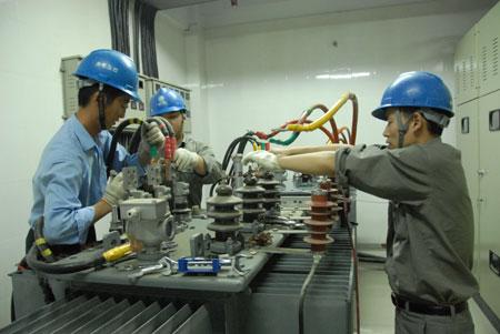 Sichuan electric power equipment maintenance company