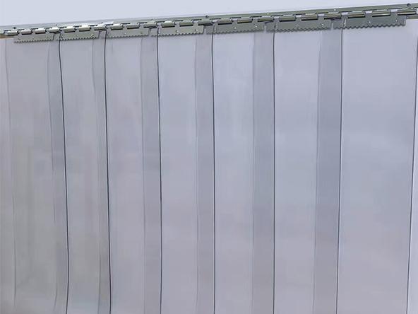 出口超透明门帘