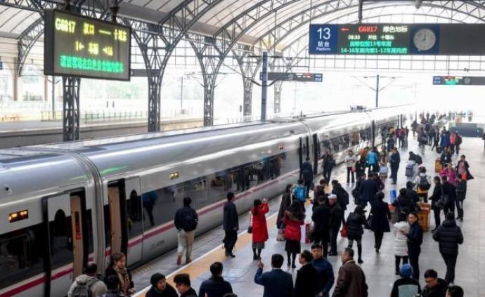 铁路春运节前售票高峰平稳度过,累计售票已超2亿张