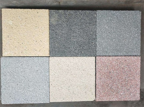 仿石砖的污垢处理方法