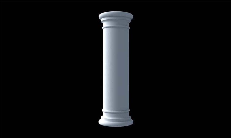 伟成厂家定制罗马柱雕塑