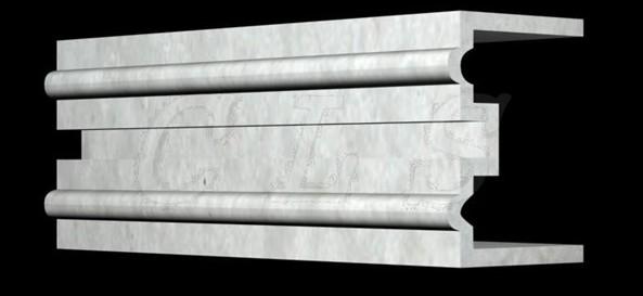 GRC装饰线条构件防水防裂