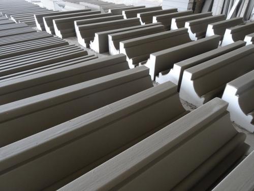 eps线条安装施工