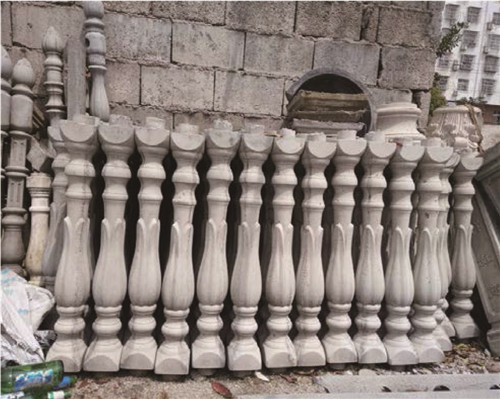 宜昌grc花瓶柱定制安装厂家
