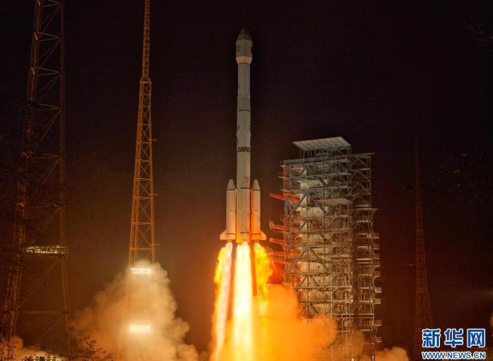 6月3日零时17分我国成功发射风云四号02星