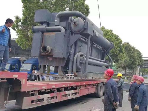 上海中央空调回收施工现场