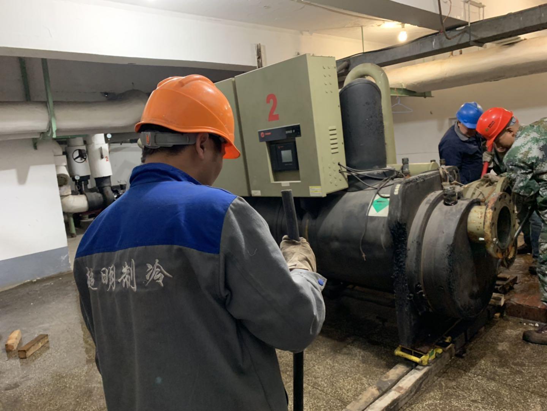 超明制冷专业回收中央空调回收溴化锂制冷机回收大型冷库
