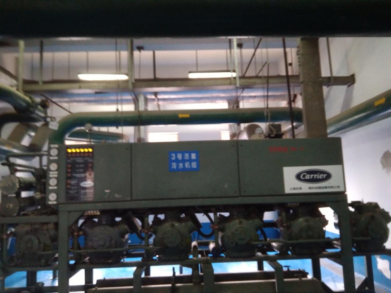 超明制冷参与上海工人疗养院暖通改造施工拆除回收旧设备安装新设备