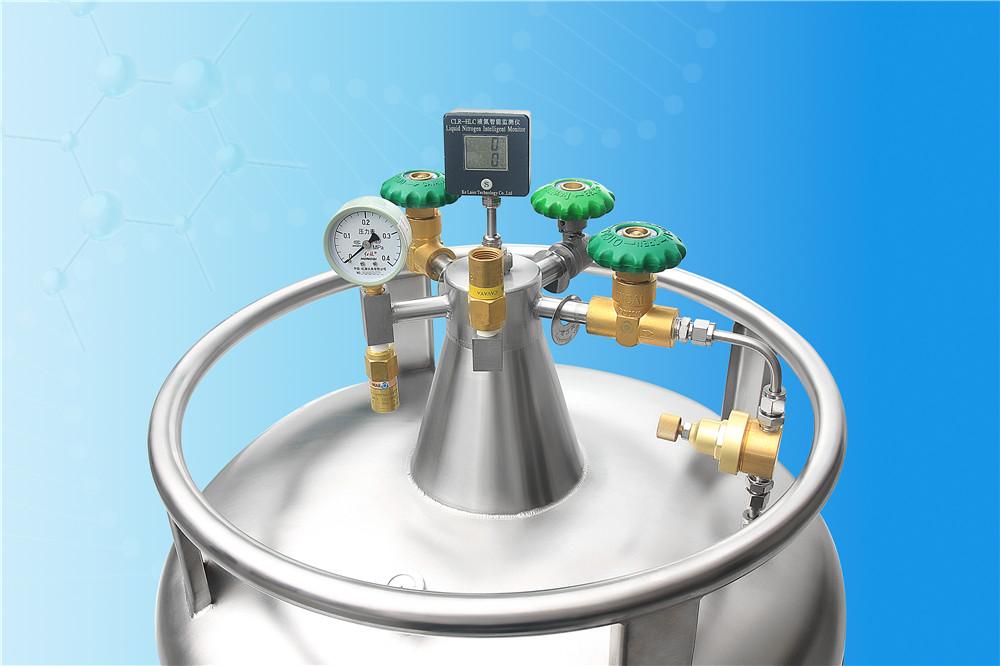 自增压液氮罐配件安全阀压力表截止阀