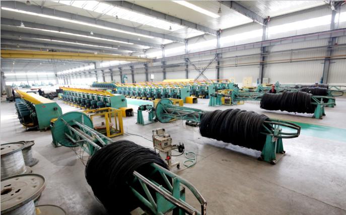 钢丝生产线