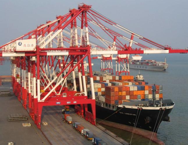 青岛港岸桥钢丝绳