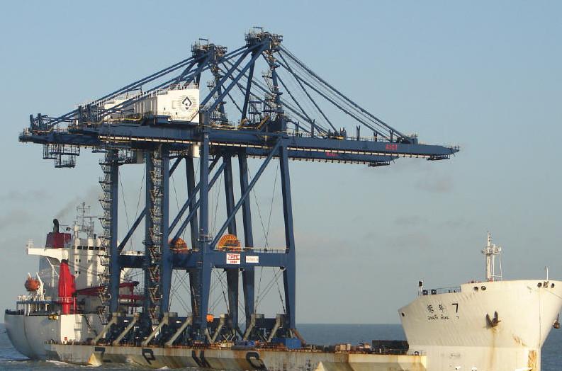 振华卸船船专用钢丝绳