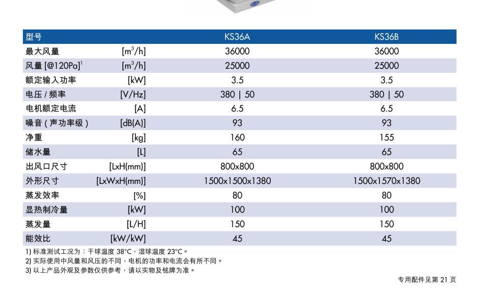 冷风机价格